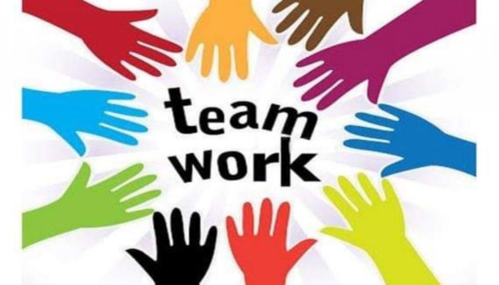 Alle arbeider sammen